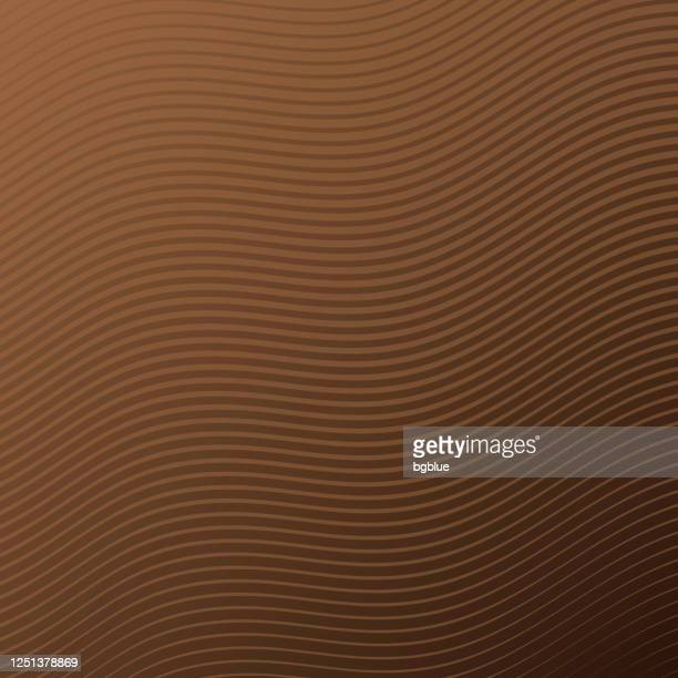 trendy geometric design - brown abstract background - brown background stock illustrations