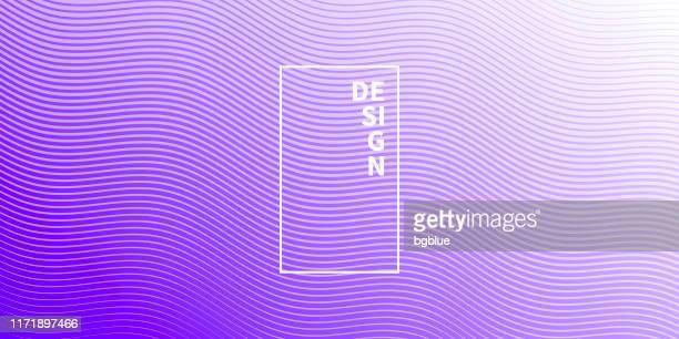 trendy geometric design - purple abstract background - purple background stock illustrations