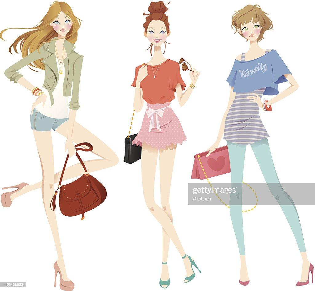 Trendy Girls Set