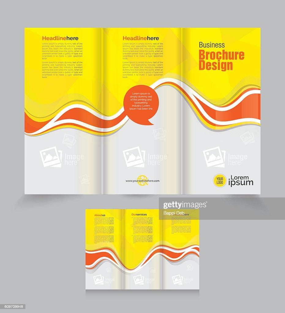 Tri Fold Business Brochure Design