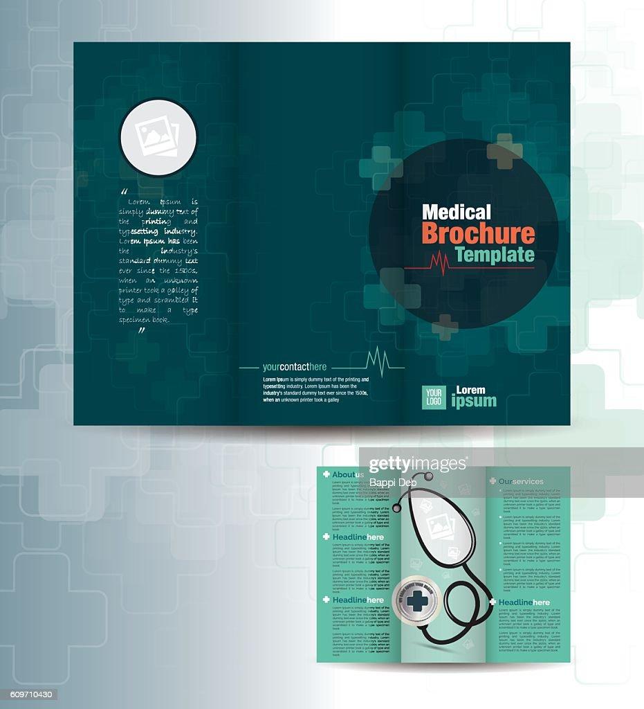 Tri Fold Medical Brochure Design Template
