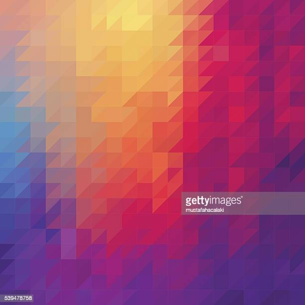 Triangle diamond abstract background