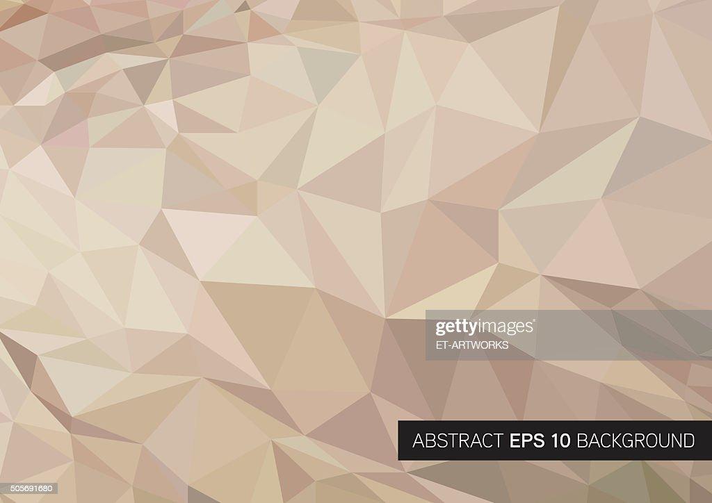 Triangle geometrical background