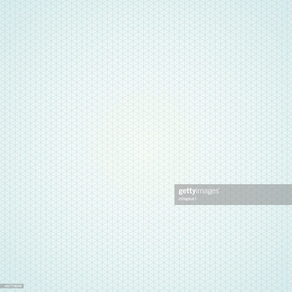Triangle light blue graph paper background