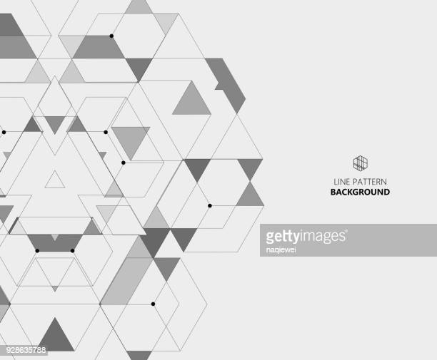 triangle pattern for design - rhombus stock illustrations