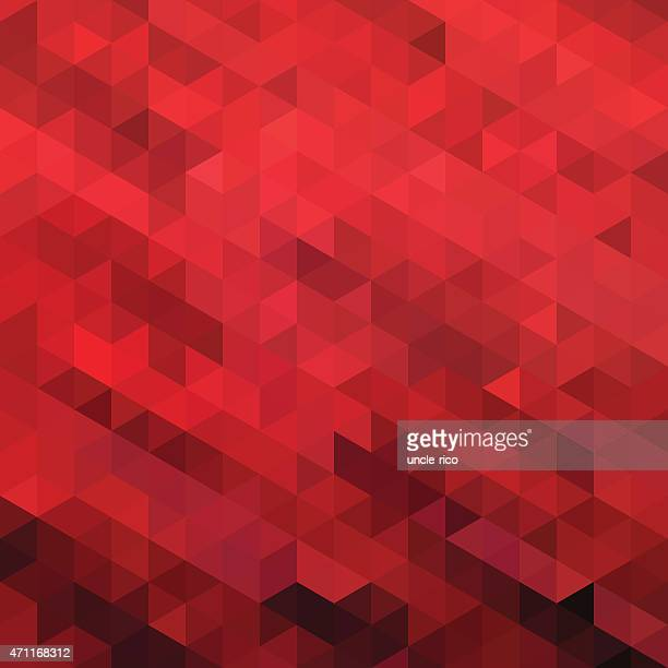 triangle polygons art pattern