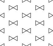 Triangle Ribbon Seamless