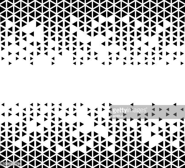 三角形のパターン - 装飾美術点のイラスト素材/クリップアート素材/マンガ素材/アイコン素材