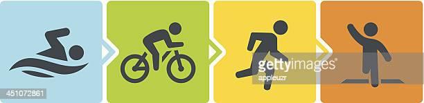 Triathlon Stages