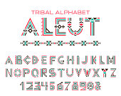 Tribal Aleut alphabet