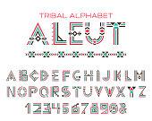 Tribal Aleut alphabet