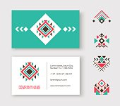 Tribal business card