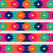 Tribal Embroidery Style Pattern
