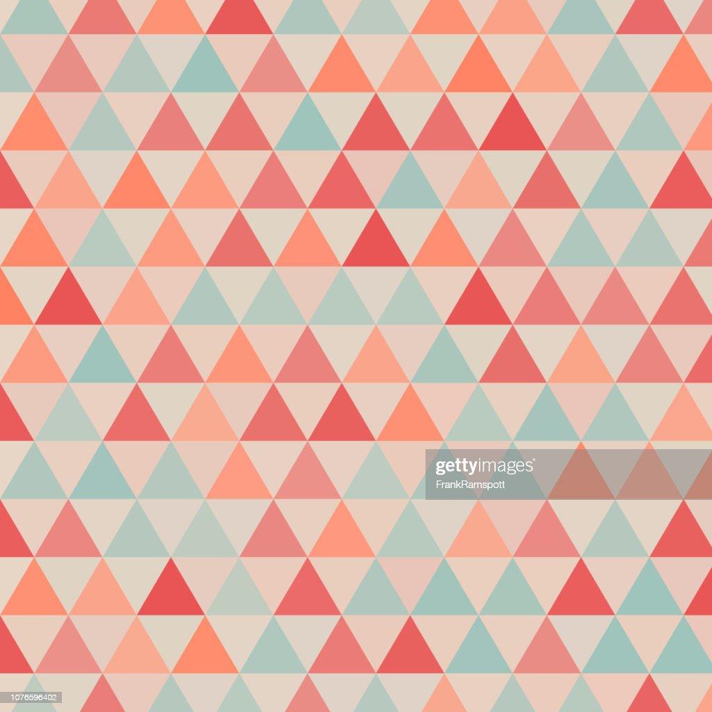 Stammes-gleichseitiges Dreieck Vektormuster : Vektorgrafik
