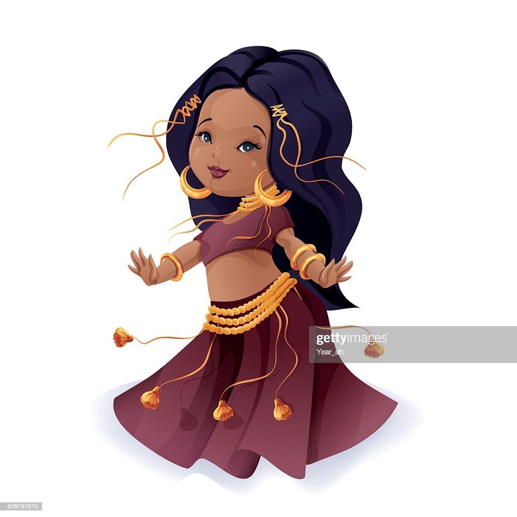 tribal fusion gypsy dancer