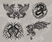 tribal icon set