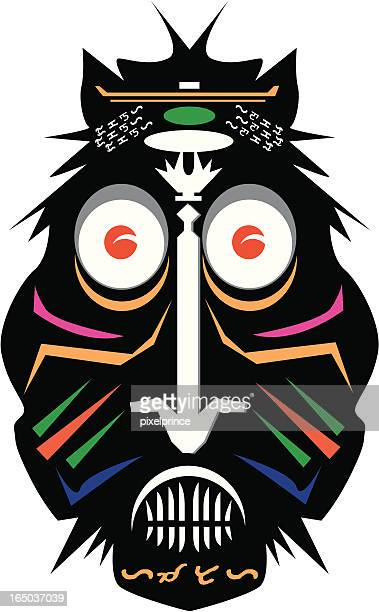 Tribal Mask / Mardi Gras Mask / Carnival Mask