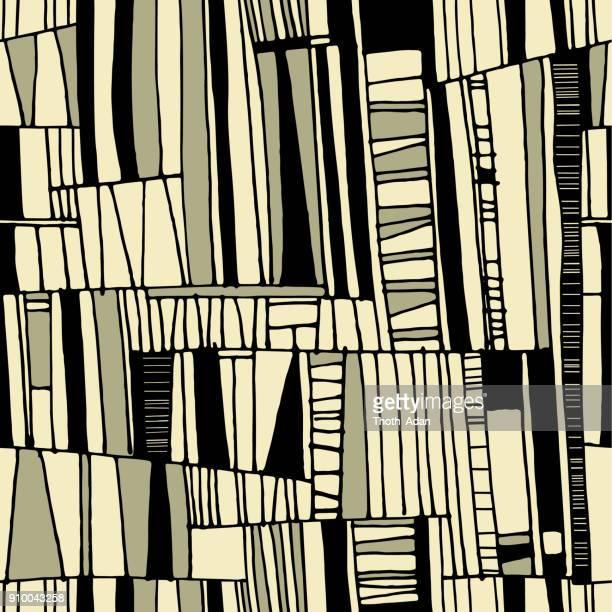 tribal net n° 2 (handmade pattern) - tribal art stock illustrations