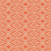 tribal orange and yellow pattern