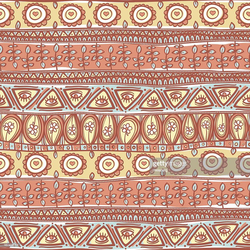 Stammes-orange-Schmuckteil : Vektorgrafik
