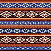 Tribal pattern seamless vector