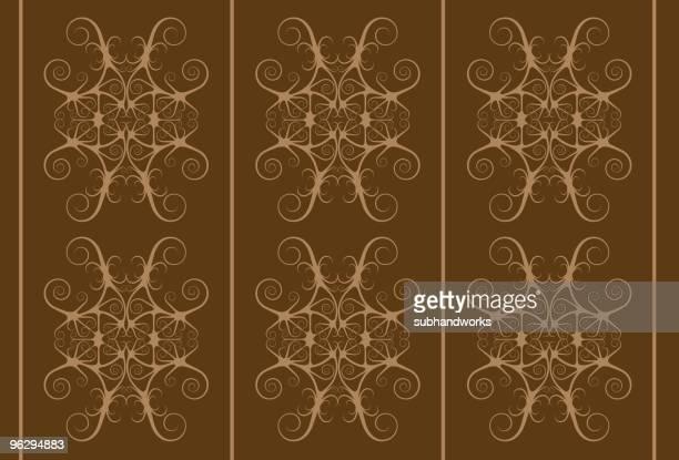 tribal pattern - island of borneo stock illustrations