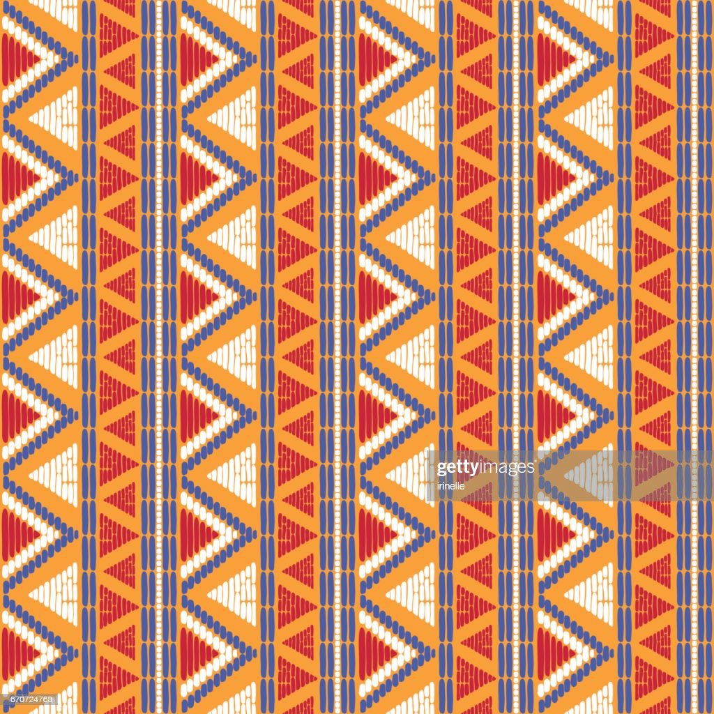 Tribal pattern vector seamless