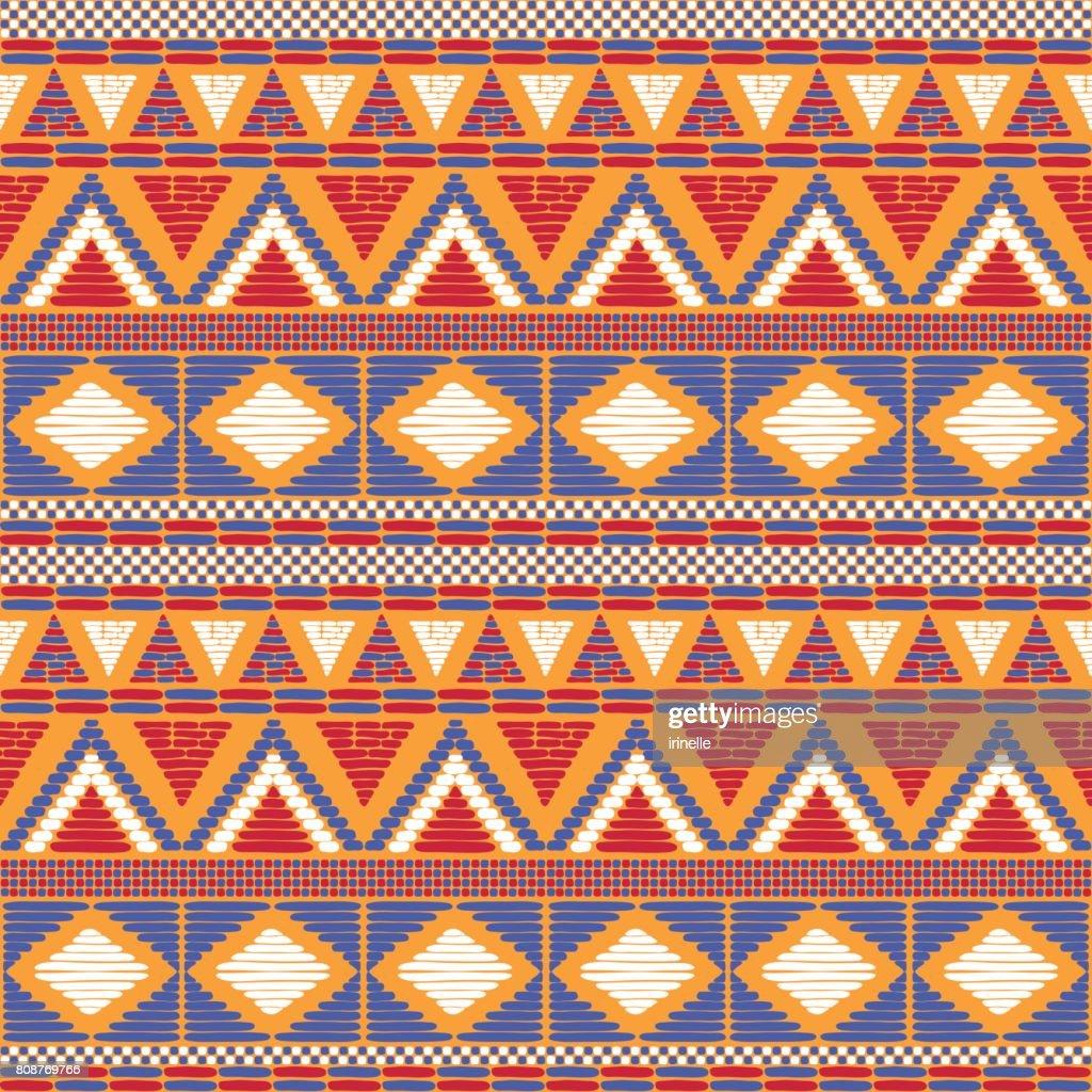 Tribal pattern vector seamless