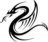 Tribal Tattoo Designs Dragon Snake