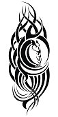 Tribal tattoo element