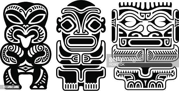 Tribal Tiki Tätowierungen