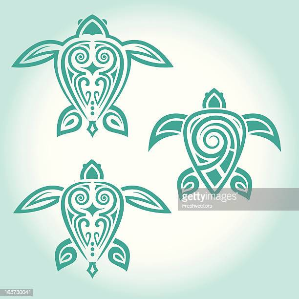Tribal Turtle Tattoos