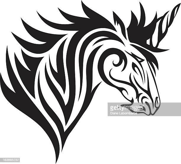 Tribal  Unicorn