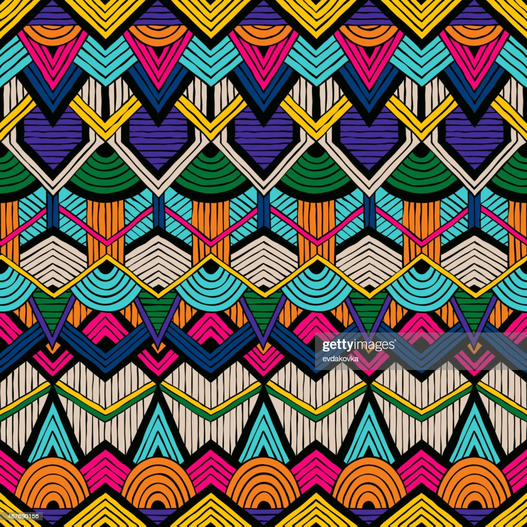 Tribal vector pattern