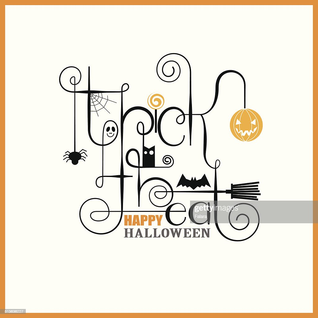 Happy Halloween Greeting Card Template Vector Free Download Happy