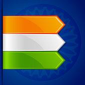 Tricolor Label Tag