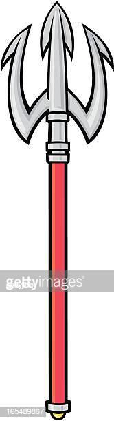 トライデント - 三叉槍点のイラスト素材/クリップアート素材/マンガ素材/アイコン素材