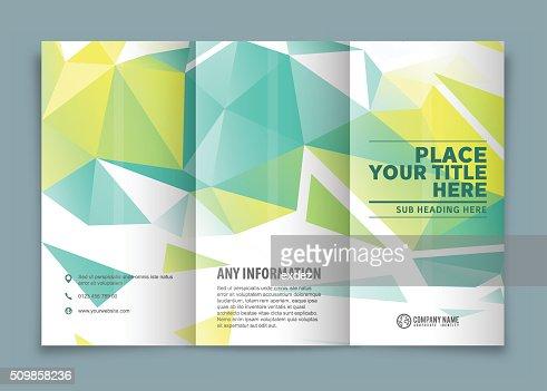 design a tri fold brochure