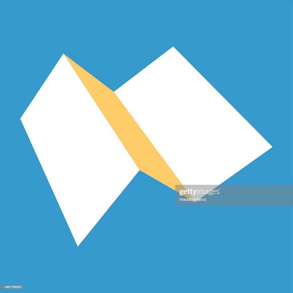 Tri-fold Brochure flat design