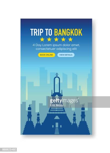 Voyage à Bangkok bannière