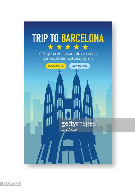 Trip To Barcelona Banner