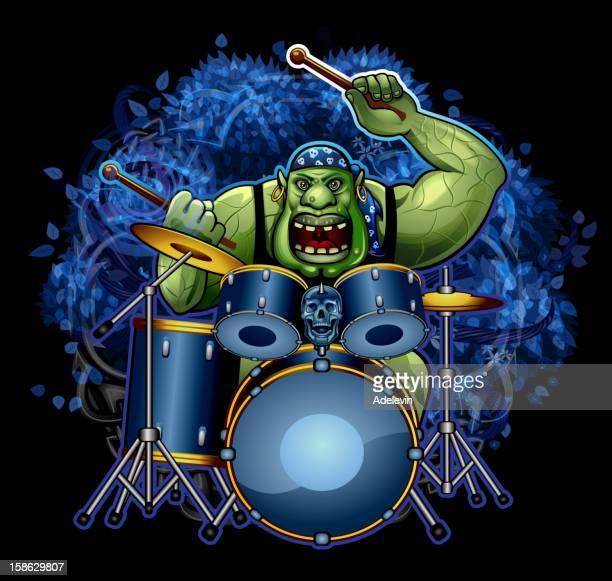 Troll drummer
