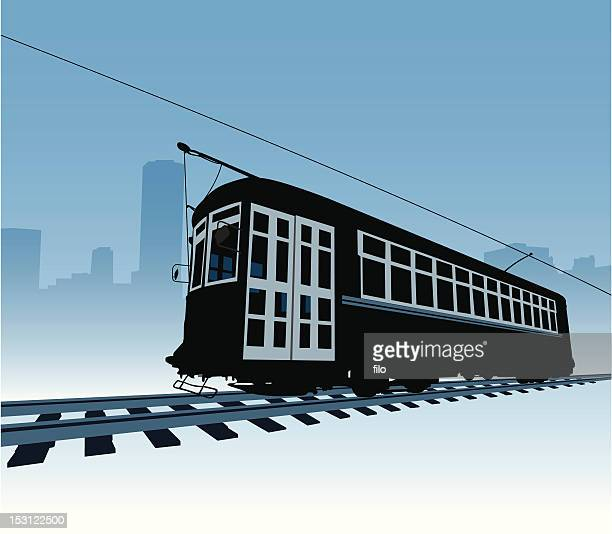trolly - new orleans stock illustrations, clip art, cartoons, & icons