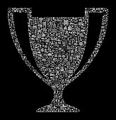 Trophy Construction Industry Vector Icon Pattern