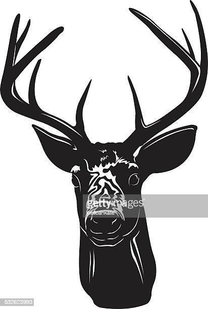 ilustrações, clipart, desenhos animados e ícones de troféu deer - trophy