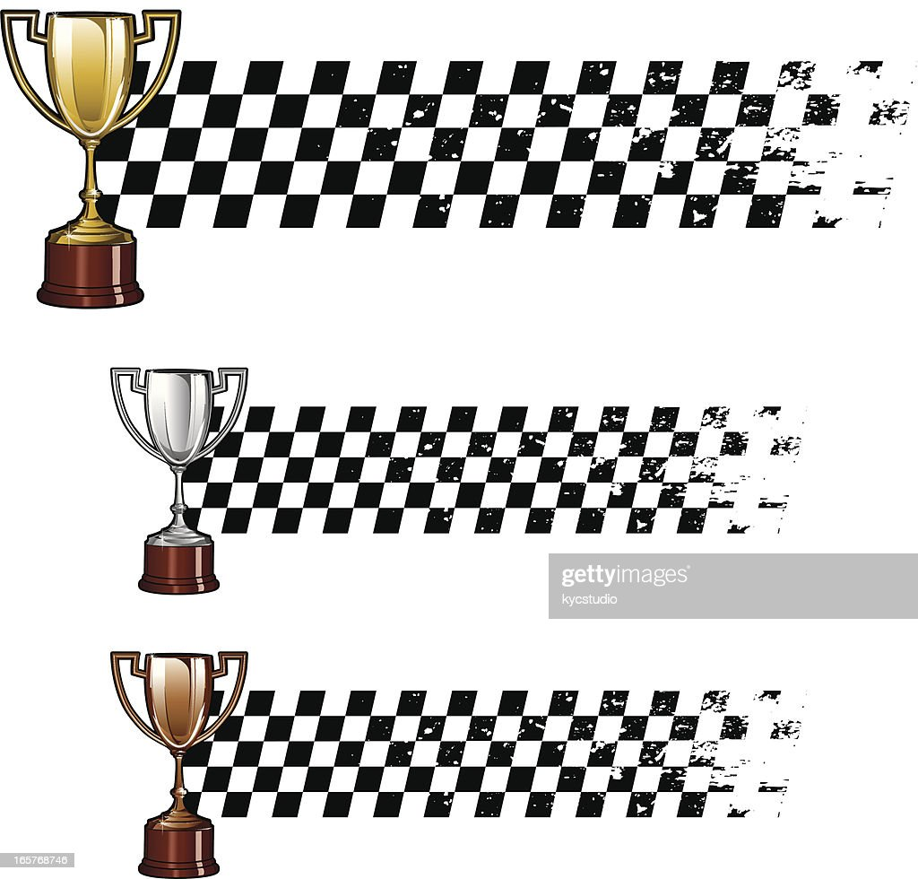 Trophy Racing banners