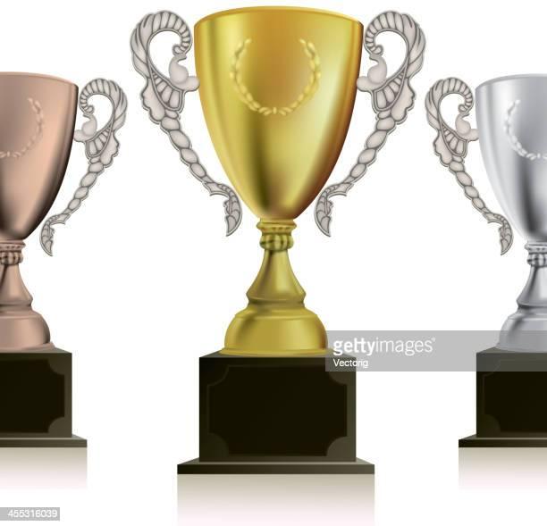 ilustrações, clipart, desenhos animados e ícones de troféu - trophy