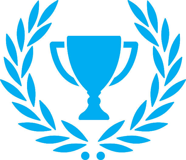 Trophy With Laurel Wreath Wall Art