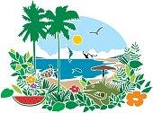 tropical bahia & beach