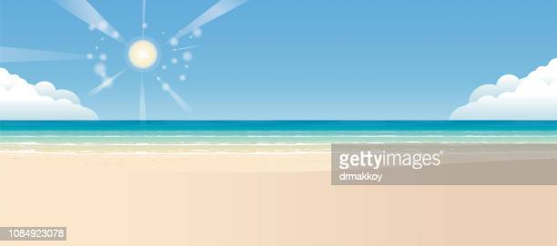 Tropical beach background and sand
